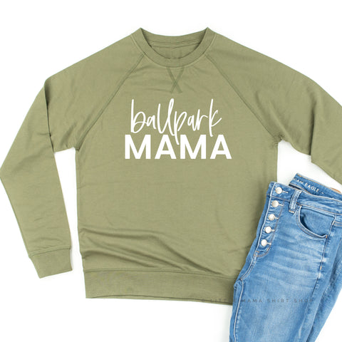Ballpark Mama - Lightweight Pullover Sweater