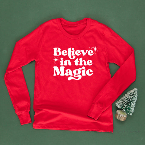 Believe in the Magic - Long Sleeve Child Shirt