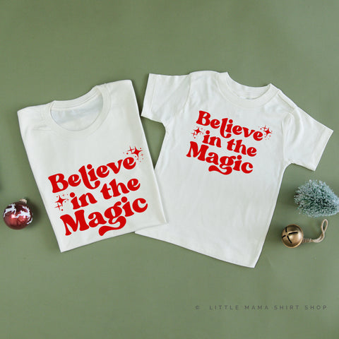 Believe In The Magic - Set of 2 Unisex Tees