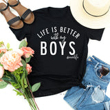 Life is Better with Boys & All Boy - Matching Set