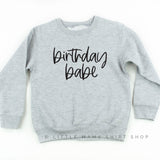 Birthday Babe - Child Sweater