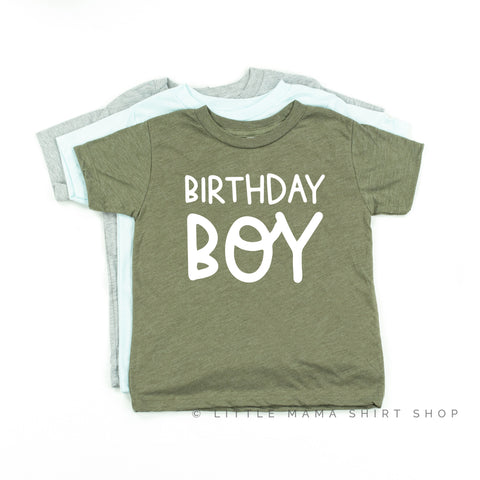 Birthday Boy - Child Shirt