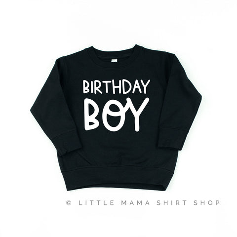 Birthday Boy - Child Sweater