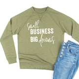 Small Business Big Dreams - Lightweight Pullover Sweater