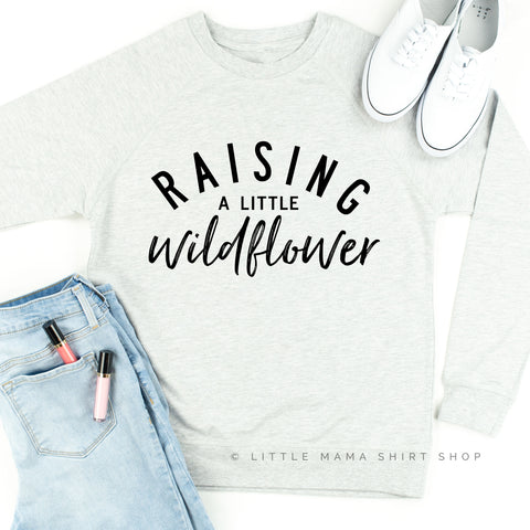 Raising A Little Wildflower - Lightweight Pullover Sweater