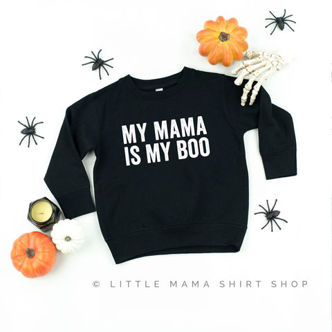 My Mama is My Boo - Child Sweater