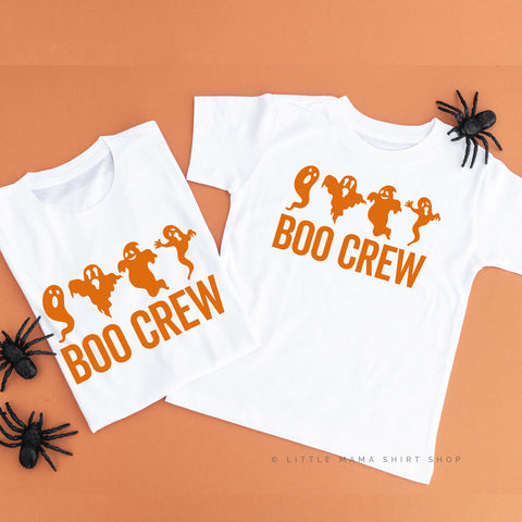Boo Crew - Set of 2 Unisex Tees
