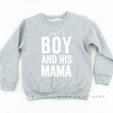 Just a Boy and his Mama - Child Sweater