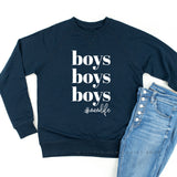 Boys Boys Boys #momlife - Lightweight Pullover Sweater