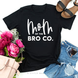Mom of the Bro Co + Bro Co | Set of 2 Black Shirts