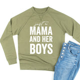 Just a Mama and Her Boys - Lightweight Pullover Sweater