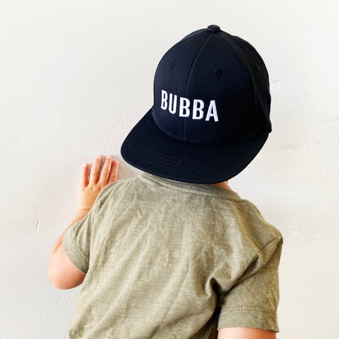 BUBBA - Child Size - Flat Brimmed Hat