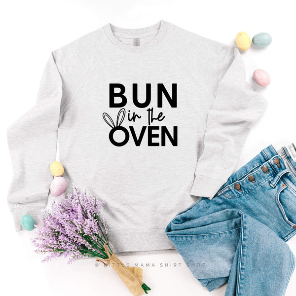 Bun in the Oven - Lightweight Pullover Sweater