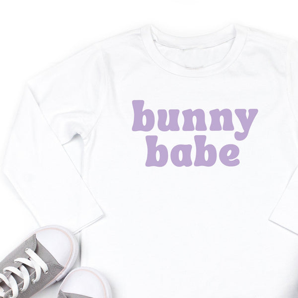 Bunny Babe - Long Sleeve Child Shirt