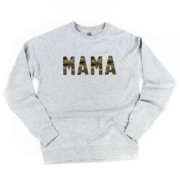 CAMO MAMA - Lightweight Pullover Sweater