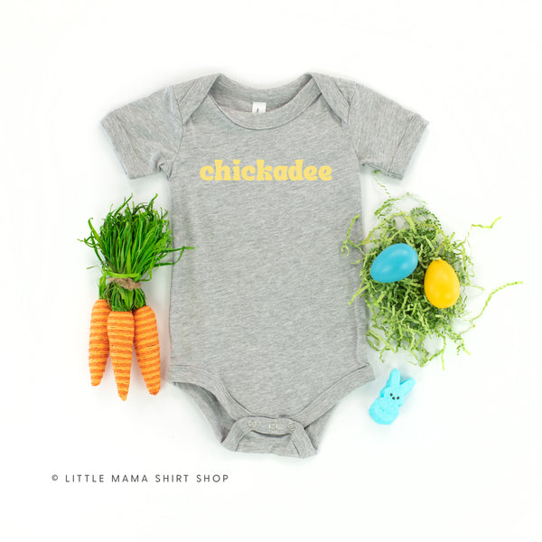 Chickadee - Short Sleeve Child Shirt