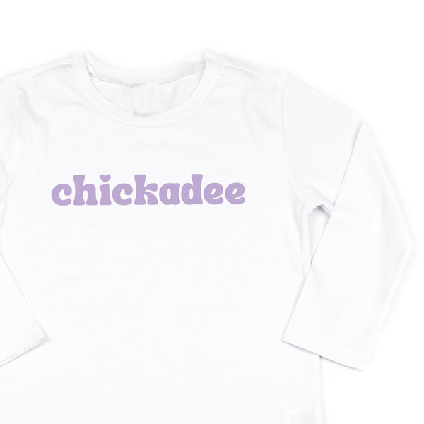 Chickadee - Long Sleeve Child Shirt