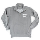 Heavyweight Half Zip Sweatshirt - Limited Edition