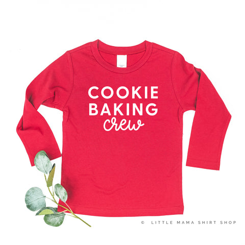 Cookie Baking Crew - Long Sleeve Child Shirt