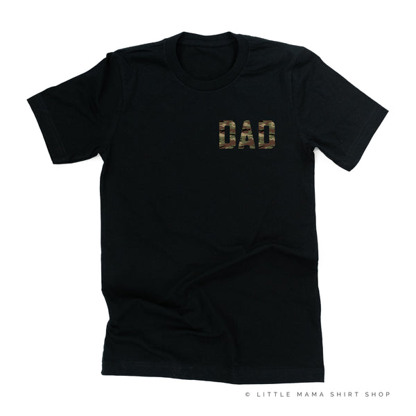 CAMO DAD - Pocket Size Design - Unisex Tee