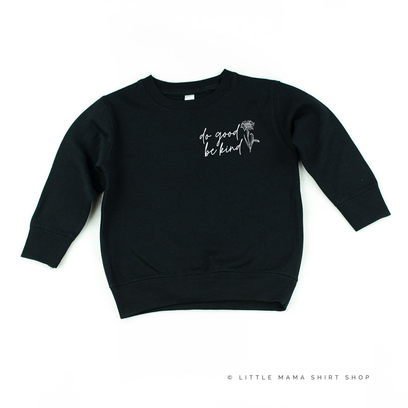 Do Good Be Kind - Child Sweater