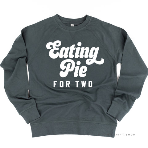 Eating Pie for Two - Lightweight Pullover Sweater