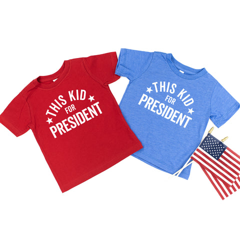 This Kid For President - Child Shirt