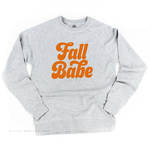 Fall Babe - Lightweight Pullover Sweater