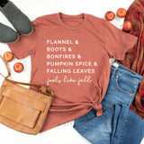 Fall List - Feels like Fall