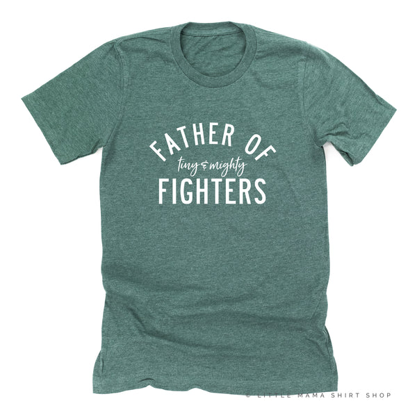 Father of Tiny and Mighty Fighters - Plural - Unisex Tee