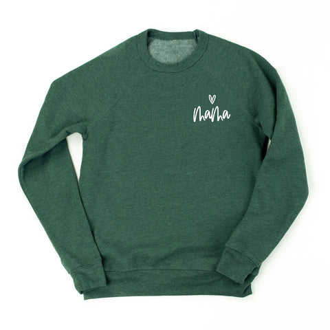Mama ♡ - Fleece Crewneck Sweater - DECEMBER