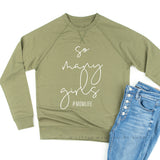 So Many Girls #MomLife - Lightweight Pullover Sweater