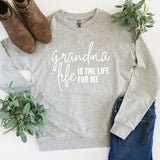 Grandma Life is the Life for Me - Lightweight Pullover Sweater