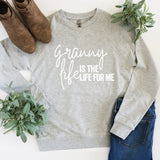 Granny Life is the Life for Me - Lightweight Pullover Sweater