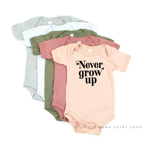 Never Grow Up - Child Shirt