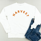 HARVEST - Burnt Orange Design - Lightweight Pullover Sweater