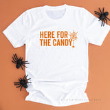 Here For The Candy - Unisex Tee