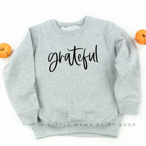 Grateful - Child Sweatshirt