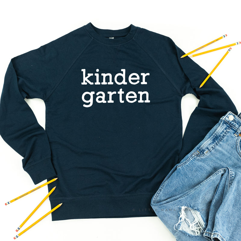 Kindergarten - Lightweight Pullover Sweater