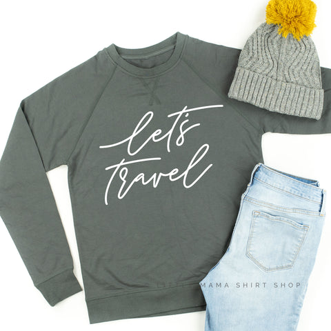Let's Travel - Lightweight Pullover Sweater