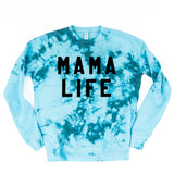 WINTER BLUE ADULT TIE-DYE SWEATSHIRT