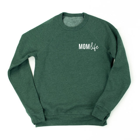 MomLife - Fleece Crewneck Sweater - NOVEMBER