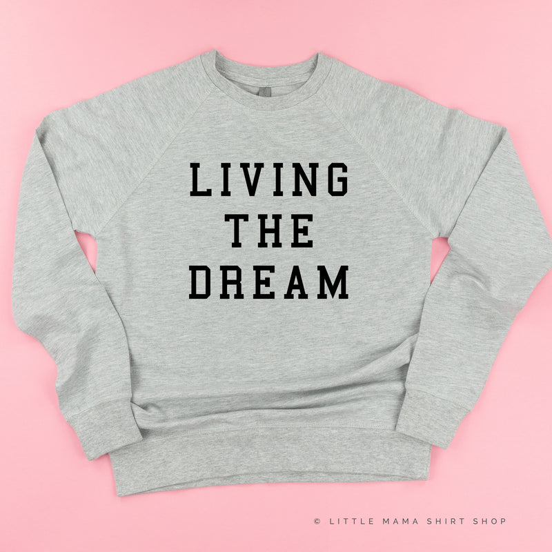 Living The Dream - Lightweight Pullover Sweater