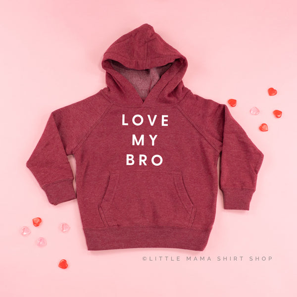 LOVE MY BRO - Child Hoodie