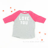 LOVE YOU - Child Raglan