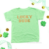 LUCKY DUDE - Short Sleeve Child Shirt