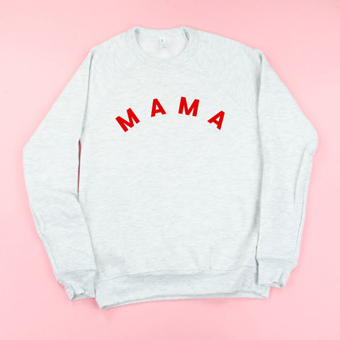 MAMA - Fleece Crewneck Sweater - JANUARY