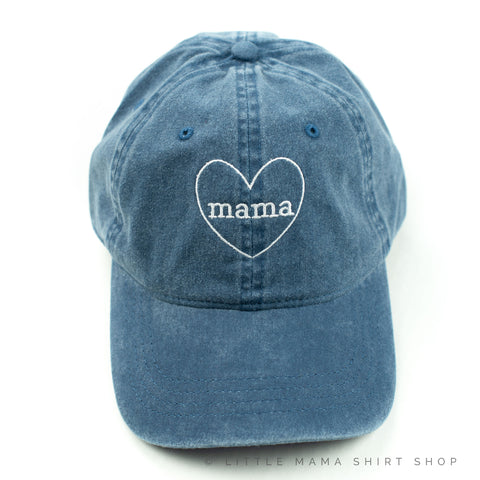 Mama ♥ - Denim Baseball Cap
