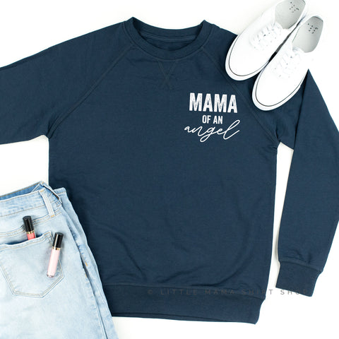Mama of an Angel (Singular) - Lightweight Pullover Sweater