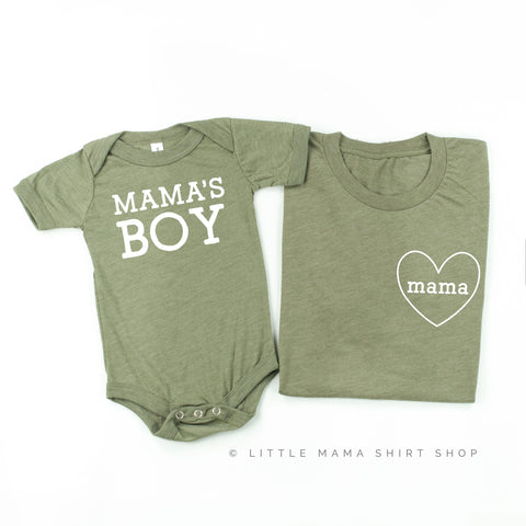 Mama & Mama's Boy | Set of 2 Shirts